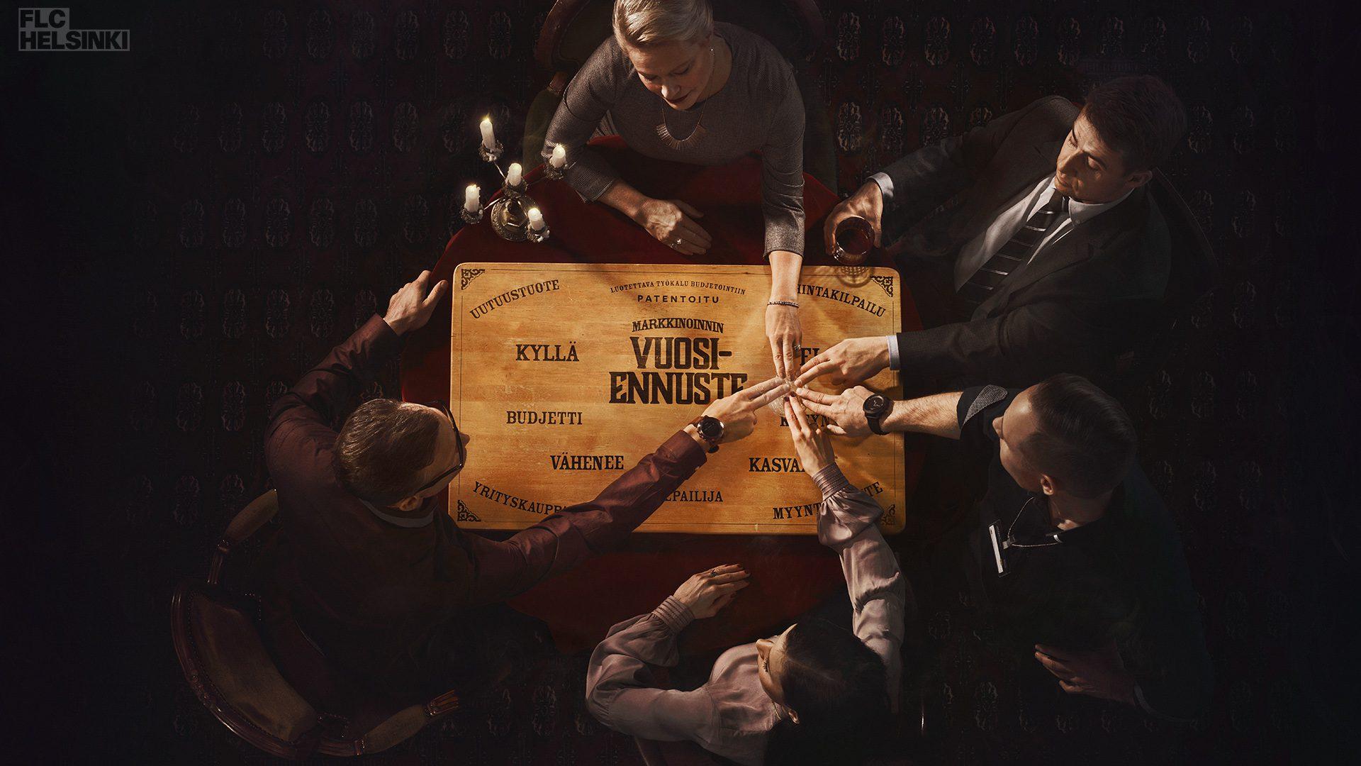 Sanoma Ouija, Oskari Hellman